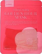 Parfums et Produits cosmétiques Masque tissu à la fleur de camélia pour visage - Elroel Golden Hour Mask Camellia Firming