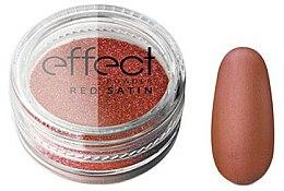 Parfums et Produits cosmétiques Poudre pour ongles effet satin rouge - Silcare Red Satine Effect Powder