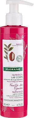Lait au beurre de cupuaçu bio pour corps Feuille de figuier - Klorane Cupuacu Fig Leaf Nourishing Body Lotion — Photo N1