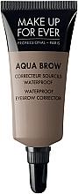 Parfums et Produits cosmétiques Correcteur crémeux pour sourcils - Make Up For Ever Aqua Brow Wateproof Eyebrow Corrector
