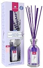 Parfums et Produits cosmétiques Diffuseur de parfum, Lavande et lilas - Cristalinas Reed Diffuser