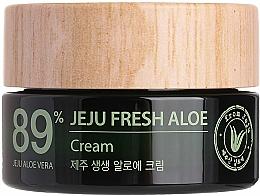 Parfums et Produits cosmétiques Crème au jus d'aloe vera 89% pour visage - The Saem Jeju Fresh Aloe Cream