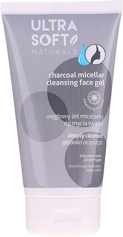 Gel nettoyant micellaire au charbon pour visage - Tolpa Ultra Soft Micellar Face Gel