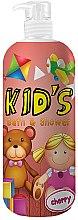 Parfums et Produits cosmétiques Gel douche et bain pour enfants, Cerise - Hegron Kid's Cherry Bath & Shower