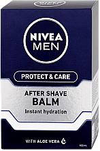 Parfums et Produits cosmétiques Baume après-rasage à l'aloès - Nivea Men Prtotect & Care Moisturizing After Shave Balm