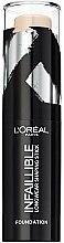 Parfums et Produits cosmétiques Fond de teint en stick longue tenue - L'Oreal Paris Infaillible Longwear Shaping Stick