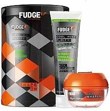 Parfums et Produits cosmétiques Kit cheveux homme - Fudge Shape Up Giftset (après-shampooing/300ml + crème coiffante/75g)