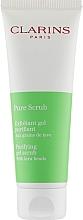 Parfums et Produits cosmétiques Exfoliant gel purifiant aux grains de lave pour le visage - Clarins Pure Scrub