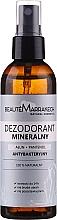 Parfums et Produits cosmétiques Déodorant spray antibactérien - Beaute Marrakech Alum & Panthenol