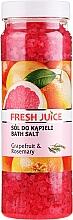 Parfums et Produits cosmétiques Sels de bain au pamplemousse et romarin - Fresh Juice Grapefruit and Rosemary