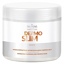 Parfums et Produits cosmétiques Masque à la caféine pour corps - Farmona Professional Dermo Slim Intensively Slimming And Firming Mask