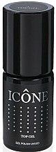Parfums et Produits cosmétiques Top coat pour vernis semi-permanent - Icone Gel Polish UV/LED Top Gel