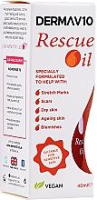 Parfums et Produits cosmétiques Huile à la vitamine E pour corps et ongles - Derma V10 Rescue Oil