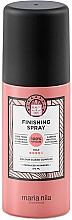 Parfums et Produits cosmétiques Laque cheveux sans sulfates, fixation forte - Maria Nila Finish Spray