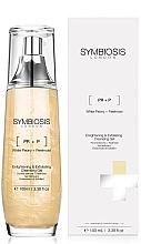 Parfums et Produits cosmétiques Gel nettoyant à la pivoine blanche pour visage - Symbiosis London Enlightening & Exfoliating Cleansing Gel