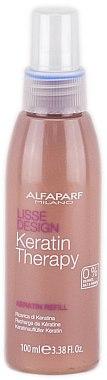 Spray à la kératine pour cheveux - Alfaparf Lisse Design Keratin Therapy Refill Milk