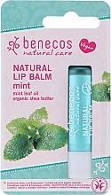 Parfums et Produits cosmétiques Baume à lèvres à l'huile de menthe - Benecos Natural Care Lip Balm Mint