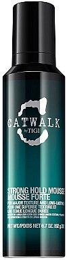 Mousse fixation forte, longue tenue - Tigi Catwalk Strong Hold Mousse