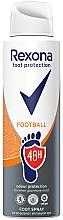 Parfums et Produits cosmétiques Spray rafraîchissant pour pieds - Rexona Football Spray