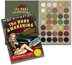 Parfums et Produits cosmétiques Palette de fards à paupières, 35 couleurs - Rude The Rude Awakening