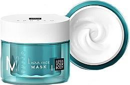 Parfums et Produits cosmétiques Masque à l'extrait d'algues rouges et acide hyaluronique pour visage - AQUAYO Aqua Face Mask