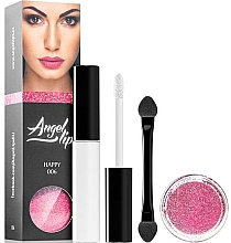 Parfums et Produits cosmétiques Coffret cadeau - Di Angelo Angel Lips (base/4ml + glitter/3g) (002 – Seductive)