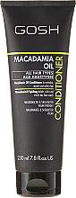 Parfums et Produits cosmétiques Après-shampooing à l'huile de macadamia et karité - Gosh Macadamia Oil