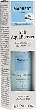 Parfums et Produits cosmétiques Crème-gel à la hyaluron pour contour des yeux - Marbert 24h AquaBooster Augencreme-Gel