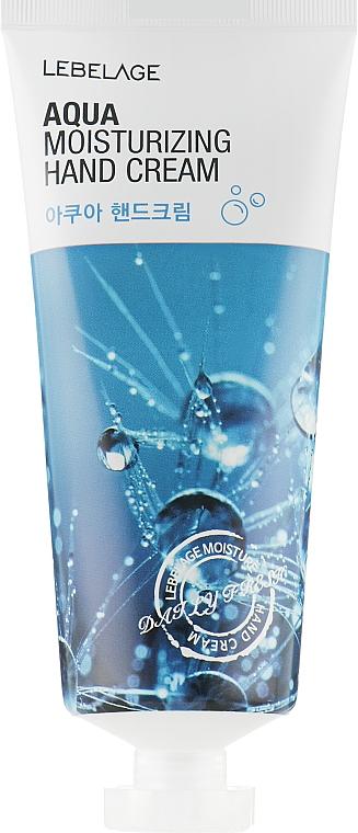 Crème hydratante pour mains - Lebelage Aqua Moisturizing Hand Cream — Photo N2