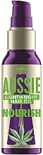 Parfums et Produits cosmétiques Huile à l'extrait de chanvre pour cheveux - Aussie Miracle Oil Nourish