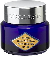 Parfums et Produits cosmétiques Baume à l'huile d'immortelle contour des yeux - L'Occitane Immortelle Precious Eye Balm