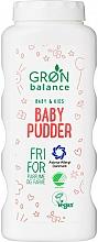 Parfums et Produits cosmétiques Poudre pour bébés, sans parfum - Gron Balance Baby & Kids Baby Pudder