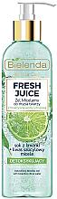 Parfums et Produits cosmétiques Gel micellaire détoxifiant à l'eau d'agrumes bioactive pour visage - Bielenda Fresh Juice Detox Lime