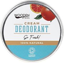 Parfums et Produits cosmétiques Déodorant crème - Wooden Spoon Go Fresh Cream Deodorant