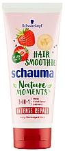 Masque aux fraises et banane pour cheveux - Schwarzkopf Schauma Nature Moments Hair Smoothie 3in1 Intense Repair — Photo N1