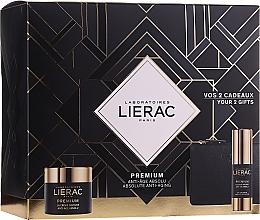 Parfums et Produits cosmétiques Coffret cadeau - Lierac Premium Soyeuse (eye/cr/15ml + cr/50ml + bag)