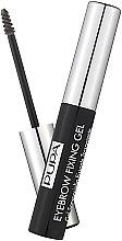 Parfums et Produits cosmétiques Gel fixateur pour sourcils - Pupa Transparent Eyebrow Fixing Gel