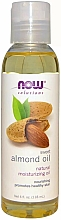 Parfums et Produits cosmétiques Huile d'amande douce - Now Foods Solutions Sweet Almond Oil