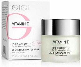 Parfums et Produits cosmétiques Crème à la vitamine E pour visage - Gigi Vitamin E Moisturizer for oily skin SPF 17