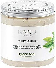 Parfums et Produits cosmétiques Gommage pour corps Thé vert - Kanu Nature Green Tea Body Scrub