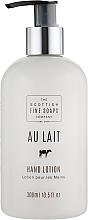 Parfums et Produits cosmétiques Lotion au lait pour mains - Scottish Fine Soaps Au Lait Hand Lotion
