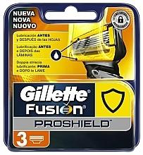 Parfums et Produits cosmétiques Lames de rechange pour rasoir, 3 pcs - Gillette Fusion ProShield