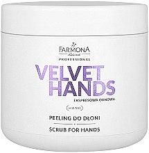Parfums et Produits cosmétiques Gommage au lys pour mains - Farmona Express Repair Scrub