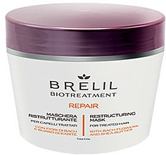 Parfums et Produits cosmétiques Masque régénérant pour cheveux  - Brelil Bio Treatment Repair Mask