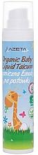 Parfums et Produits cosmétiques Lait corporel biologique à la base du talc pour bébé - Azeta Bio Organic Baby Liquid Emulsion