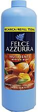 Parfums et Produits cosmétiques Savon liquide - Felce Azzurra Nutriente Amber & Argan (recharge)