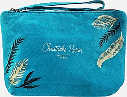 Parfums et Produits cosmétiques Christophe Robin Purifying Travel Kit - Coffret (shampooing/75ml + crème pour cheveux/20.7ml + gommage pour cuir chevelu/40ml + trousse de toilette)