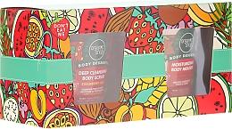 Parfums et Produits cosmétiques Organic Shop Body Desserts - Set (mousse pour corps/450ml + gommage pour corps/450ml)