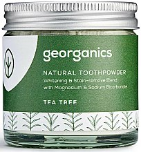 Parfums et Produits cosmétiques Dentifrice en poudre naturel Tea Tree - Georganics Tea Tree Natural Toothpowder