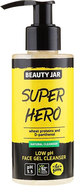 Gel nettoyant aux protéines de blé pour visage - Beauty Jar Low Ph Face Gel Cleanser